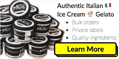 Pluto Ice Cream Website Banner